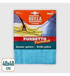 PANNO MICROFIBRA FURBETTO PAVIMENTI 40X40 CMLa Briantina