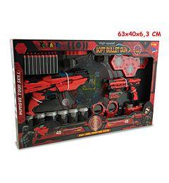 TEO S - SFIDA SOFT BULLET GUN C/ LUCE 40PROIETTILI