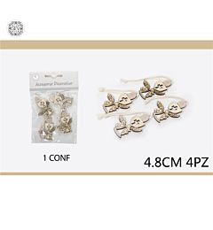 ACCESSORIO DECORATIVO 4.8CM4PCS