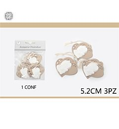 ACCESSORIO DECORATIVO 5.2CM3PCS