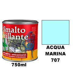 RCSMALTO BRILLANTE ACRILICO ACQUA MARINA 707