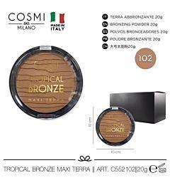 COSMI TROPICAL BRONZE MAXI TERRA N.102