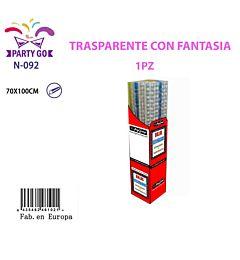 N-092 48P SURTIDO TRANSPARENTE CENEFAS