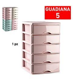 CASSETTIERA 5 CASSETTI GUADIANA SURTIDO VRM ALL