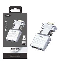 MTK ADATTATORE DA HDMI A VGA CON JACK 3,5MM