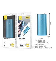 ONEPLUS POWER BANK METALBOX 5600 MAH 40*96*22MM, BLU