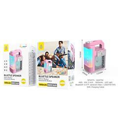 ONEPLUS MINI CASSA STEREO PORTATILE BLUETOOTH/USB/TWS/TF CARD/RADIO FM