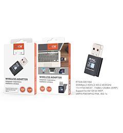 RT636 NE ADATTATORE DA USB A LAN, BIANCO