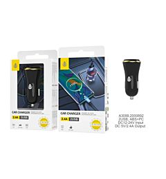 ONEPLUS CARICABATTERIA AUTO 2 USB 2.4A NEROOne Plus