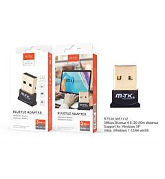 RT639 NE ADATTATORE BLUETOOTH 4.0 USB, DISTANZA DI