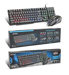 MTK GT947 SET TASTIERA + MOUSE DA GAMING LAYOUT ITALIANO QWERTY