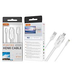 MTK CAVO ADATTATORE DA LIGHTNING A HDMI