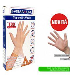 ATD GUANTI MONO FARMALINE 100PZ VINILEIrge