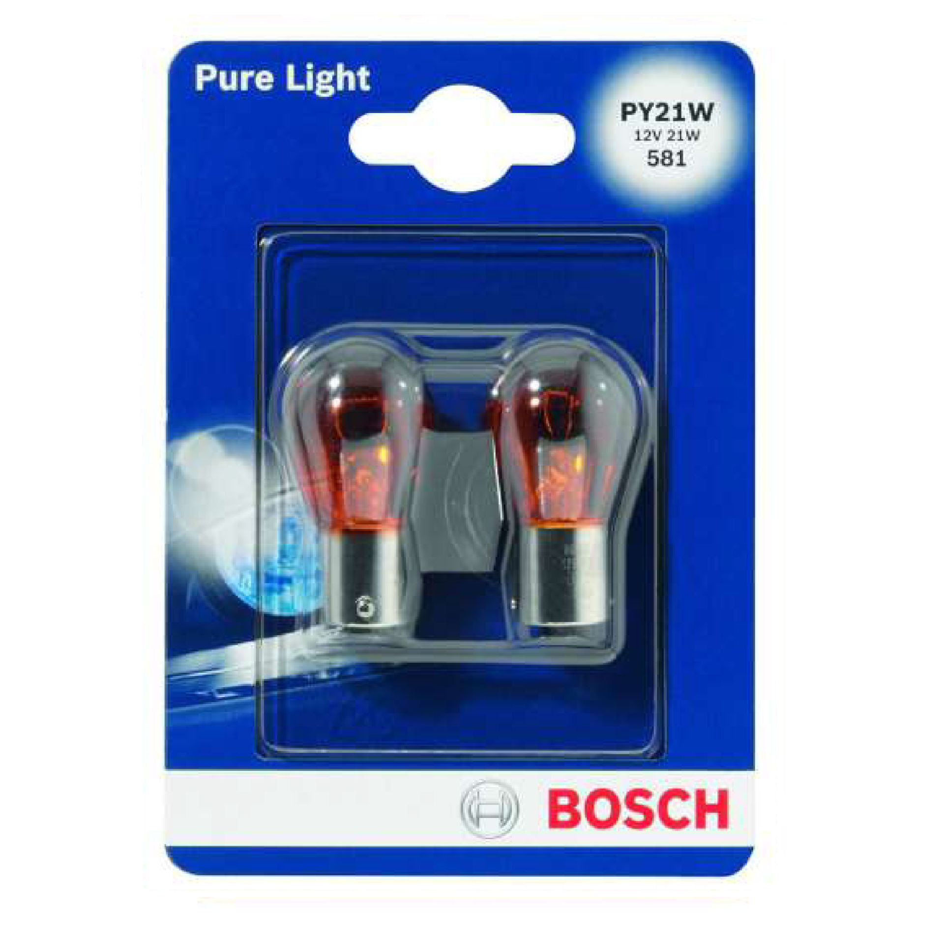 BOSCH 2 LAMP PY21W 018Bosch