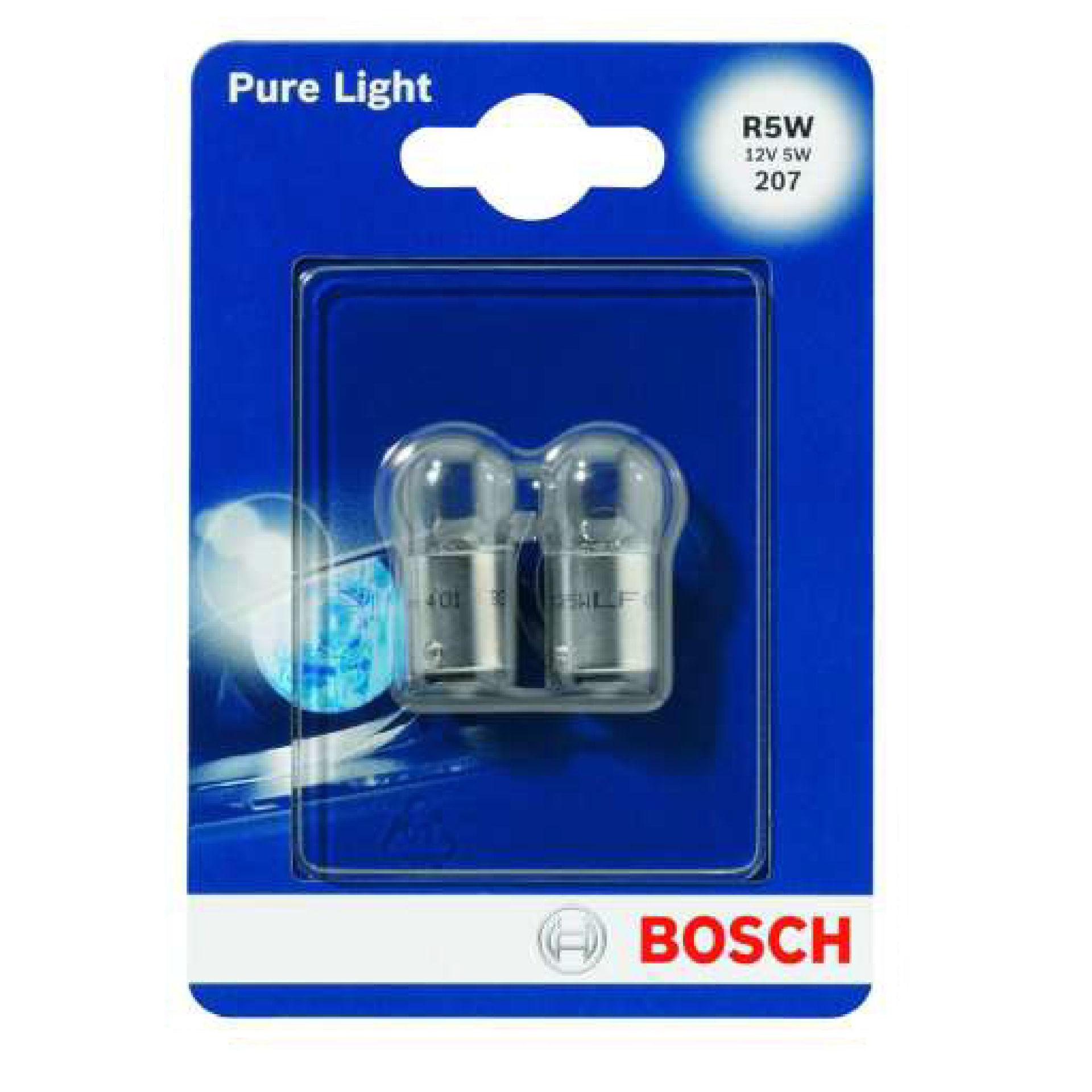 BOSCH 2 LAMP R5W 022Bosch