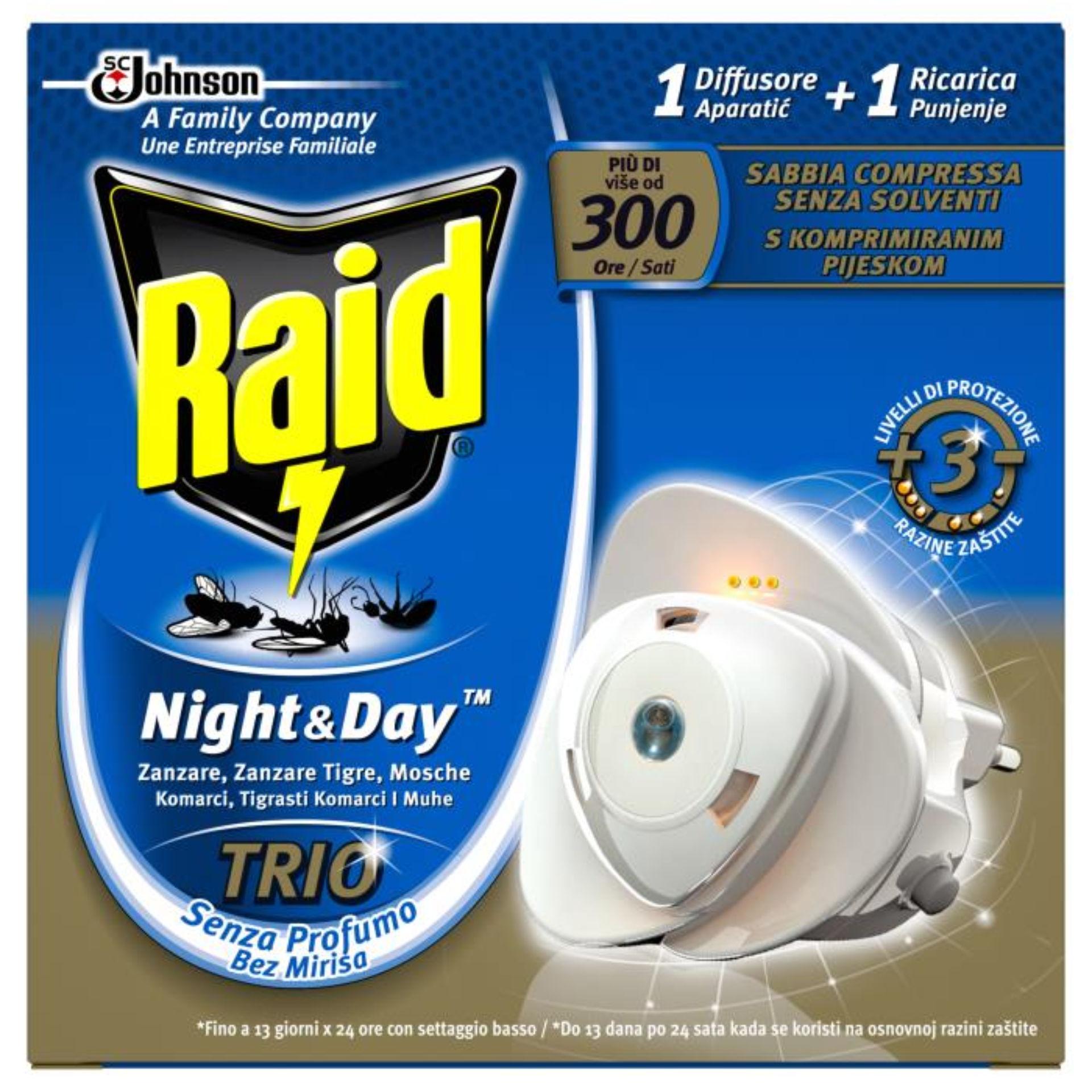 RAID NIGHT & DAY TRIO BASE A.165Raid