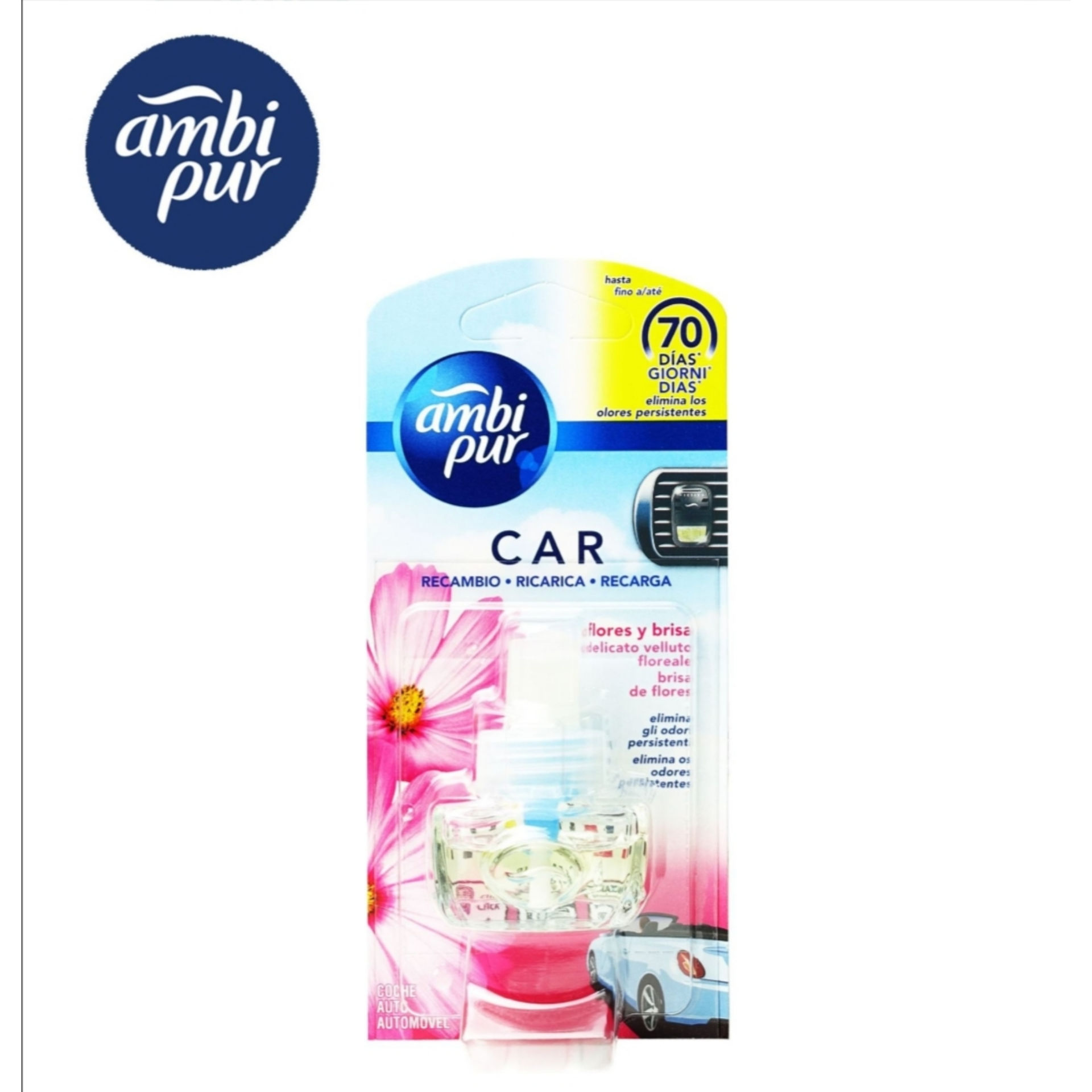 AMBIPUR CAR RICARICA FIORI/FLOREAL-8985-Ambipur
