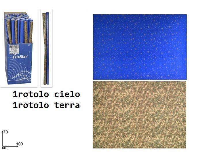 BIS ROTOLO CARTA ROCCIA/CIELO 70*100Due Esse