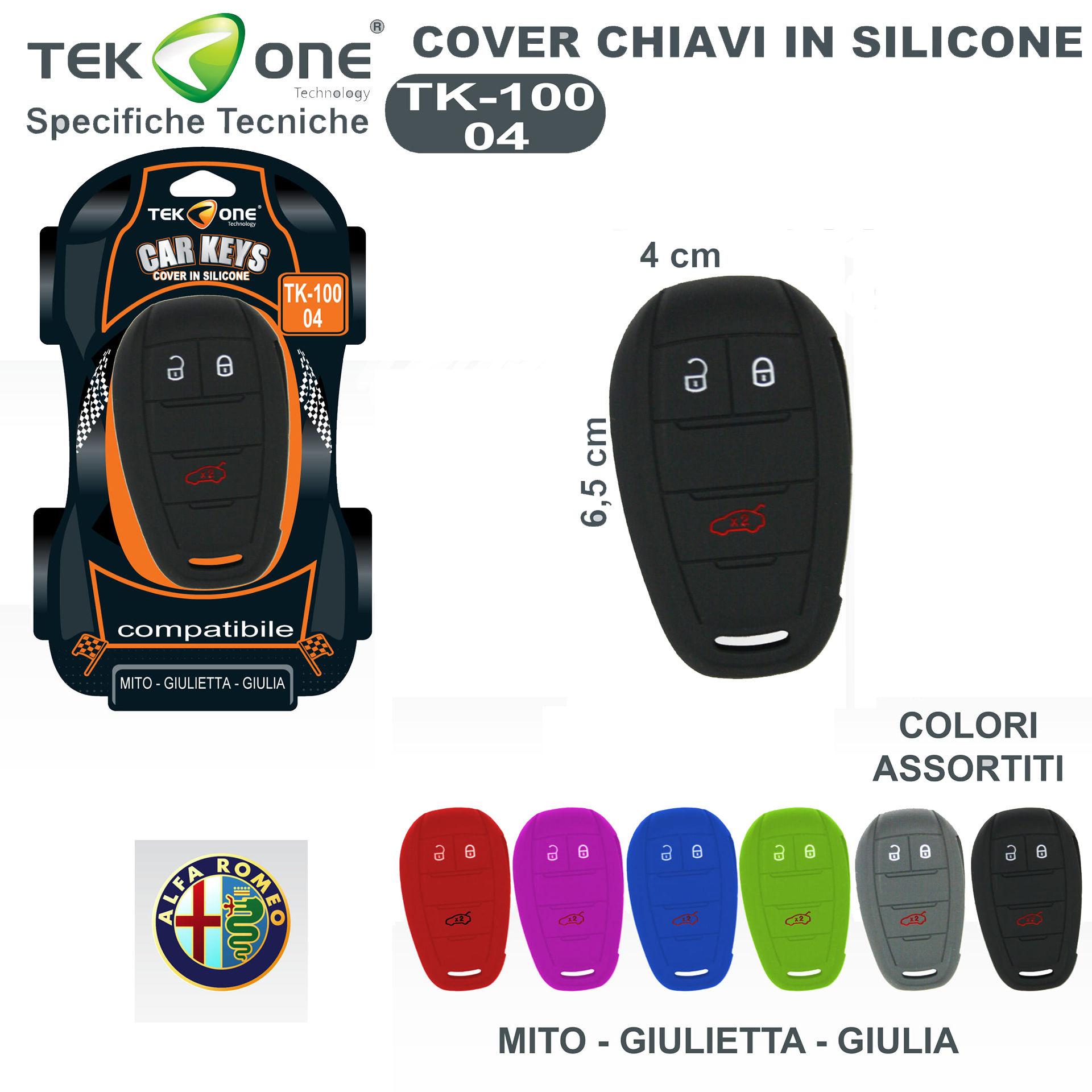 COVER CHIAVI IN SILICONE TK100-04Tekone