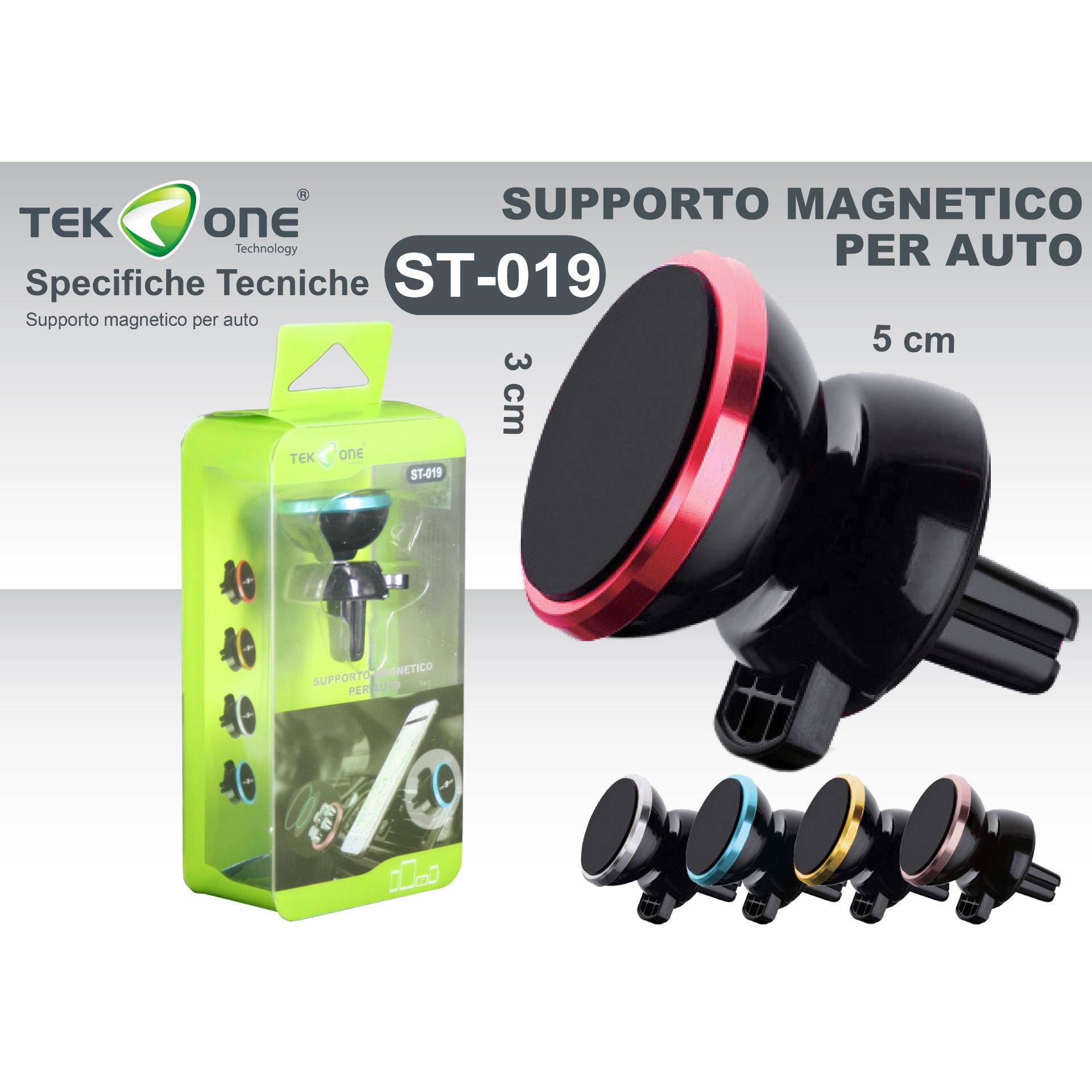 SUPPORTO MAGNETICO PER AUTO ST019Tekone
