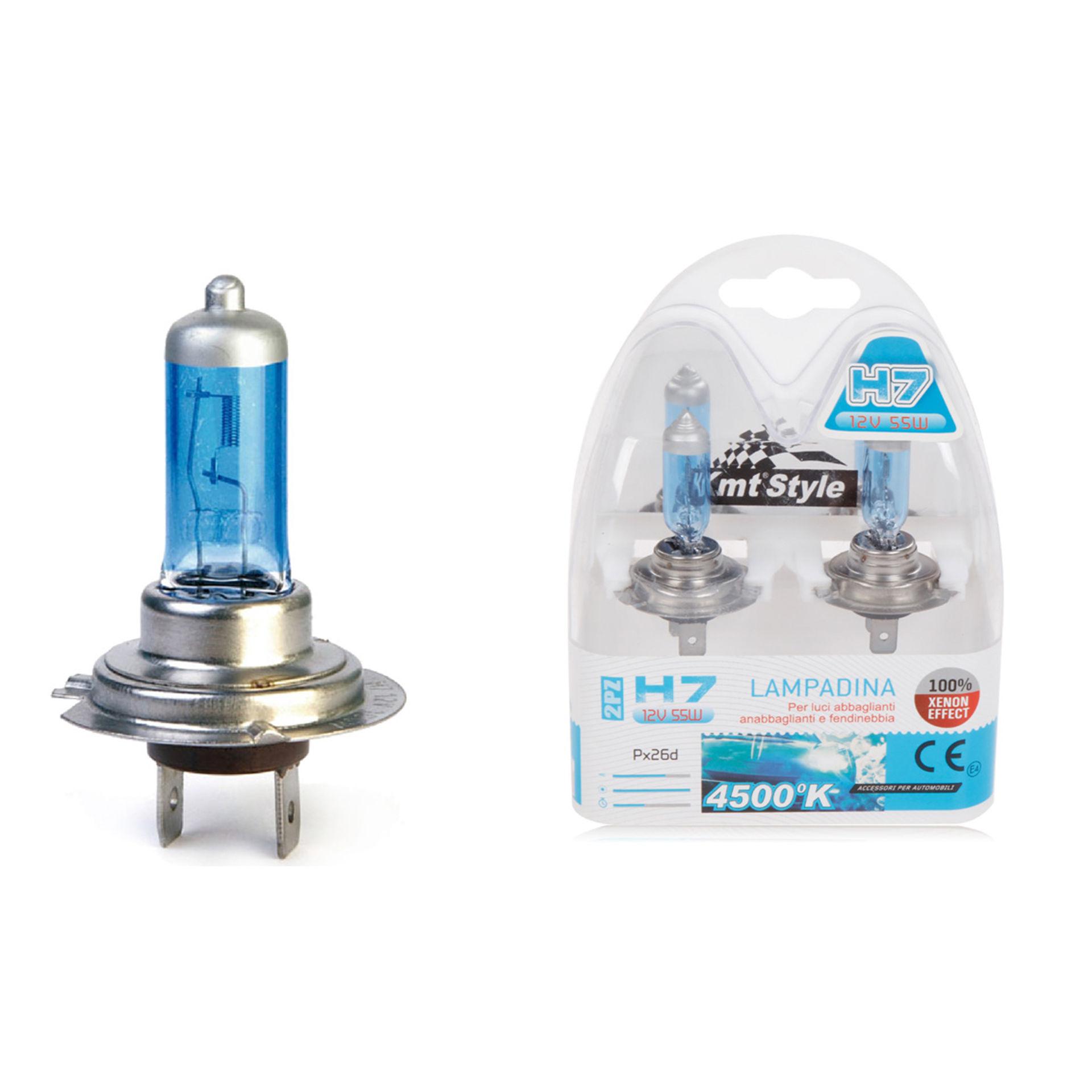 LAMPADA DA AUTO(BLU) H7 12V 55W 2PCSEmi Style