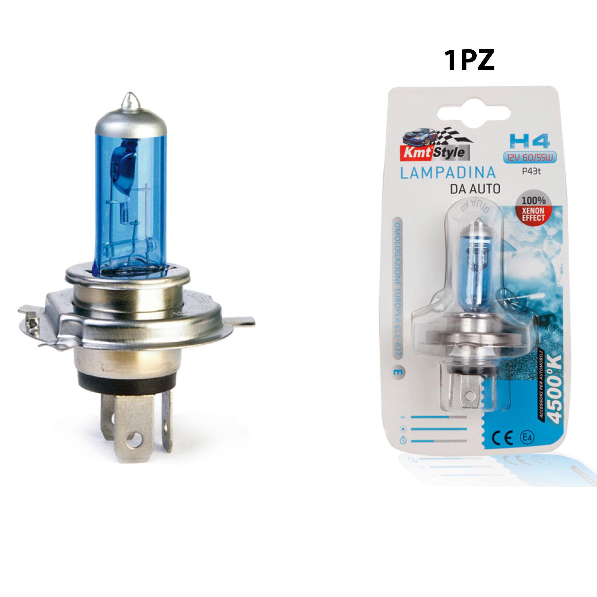 LAMPADA DA AUTO(BLUE) H4 12V 55/60W 1PCSEmi Style