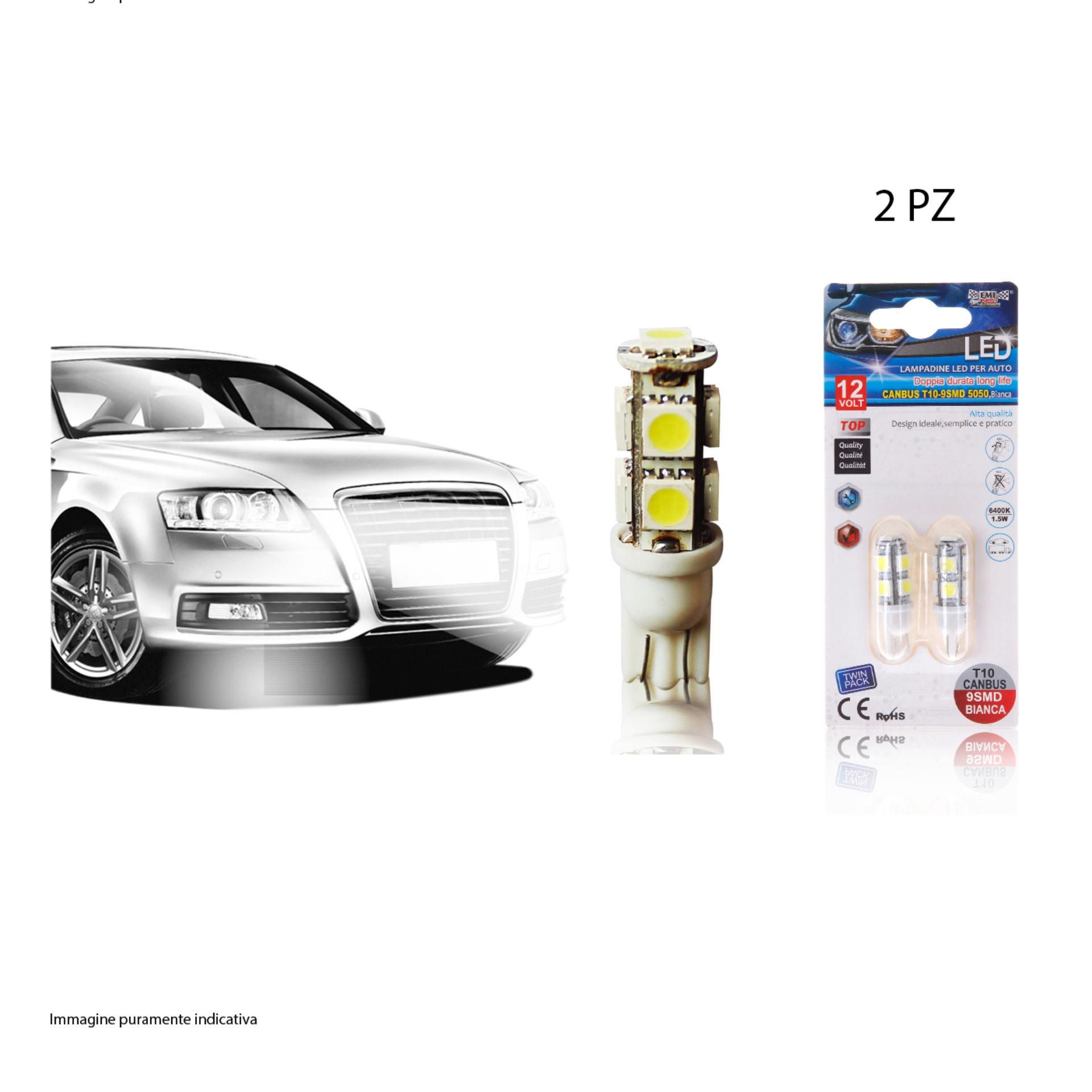 LAMPADINE LED PER AUTO 2PZEmi Style