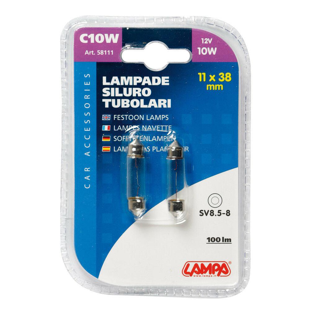 CP.LAMP.TUBOL.C10W 10W SV8,5Lampa