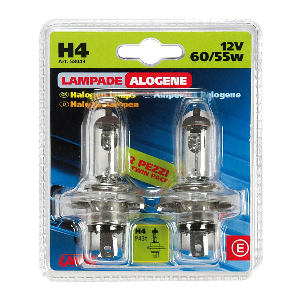 CP.LAMPADE H4 12V60/55W TWIN  D/BLISTERLampa