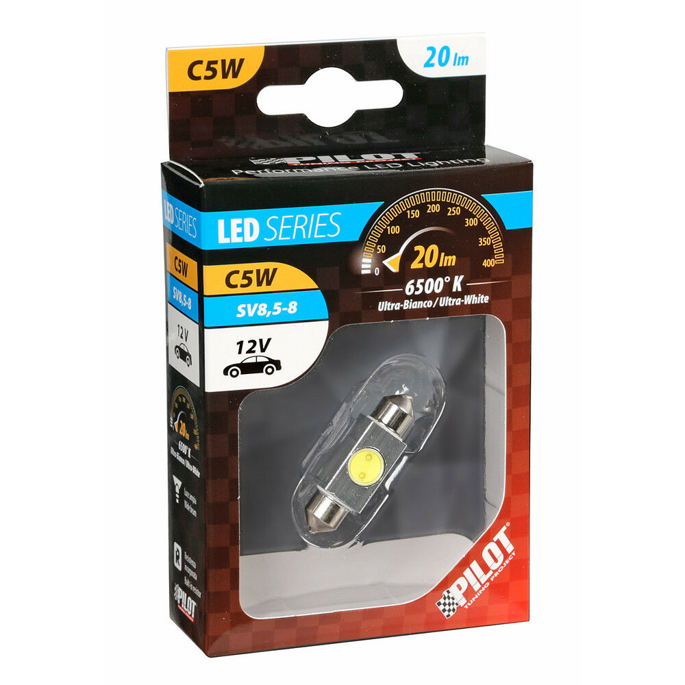 LAMPADA SILURO HYPER-LED      10X36MM. 1SMD (2CHIPLampa