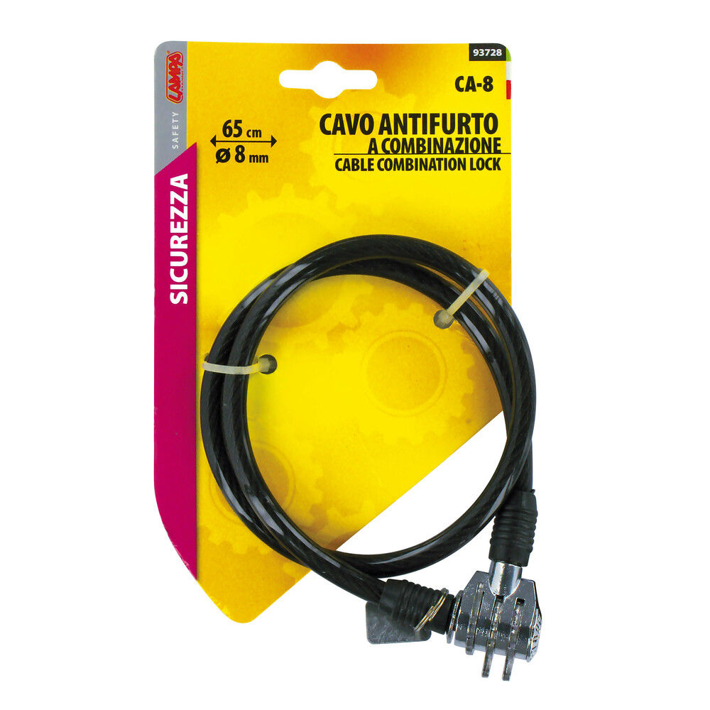 CAVO ANTIF.CA-8 COMBIN.CM.65Lampa