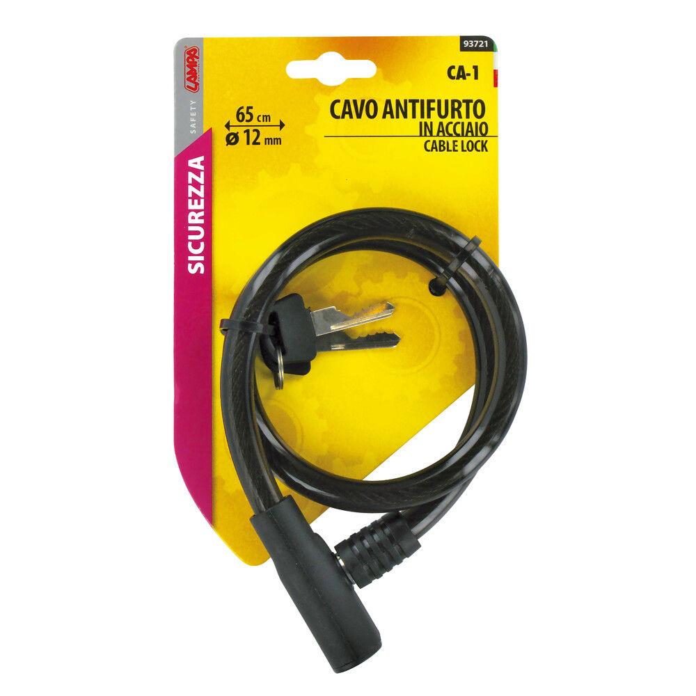 CAVO ANTIFURTO CA-1 CM65 MM12Lampa