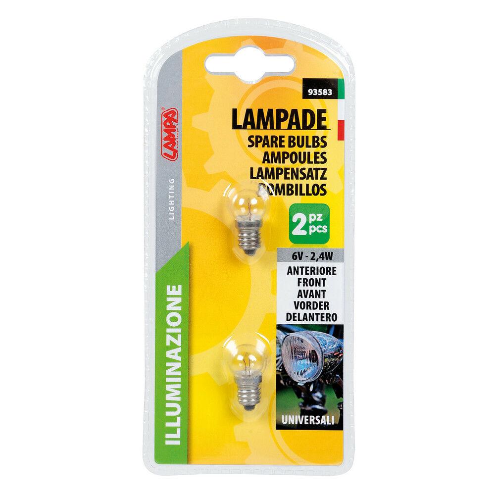 KIT 2 LAMPADINE (2X2,4W)Lampa