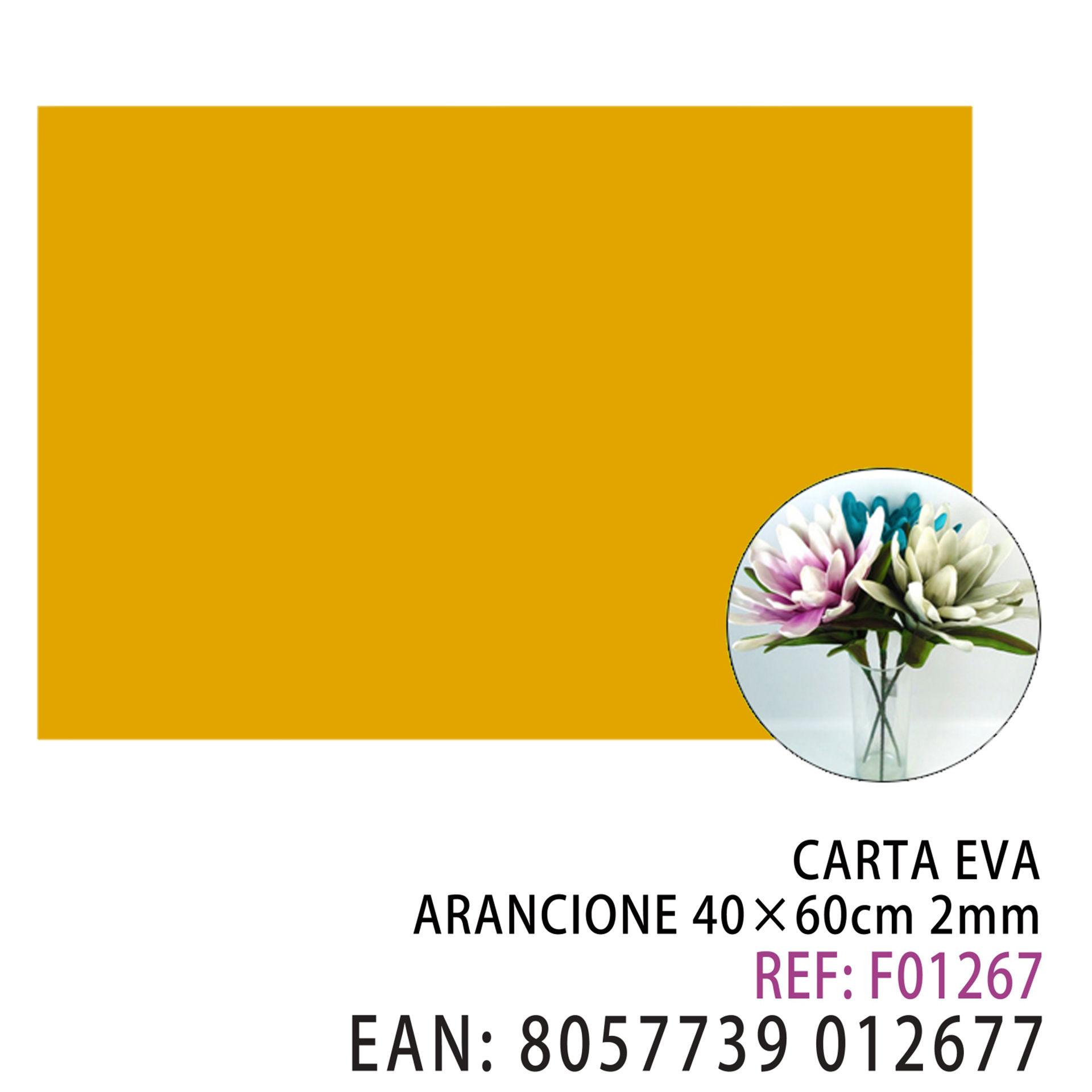 EVA ARANCIONE 40*60CM*2MMDz
