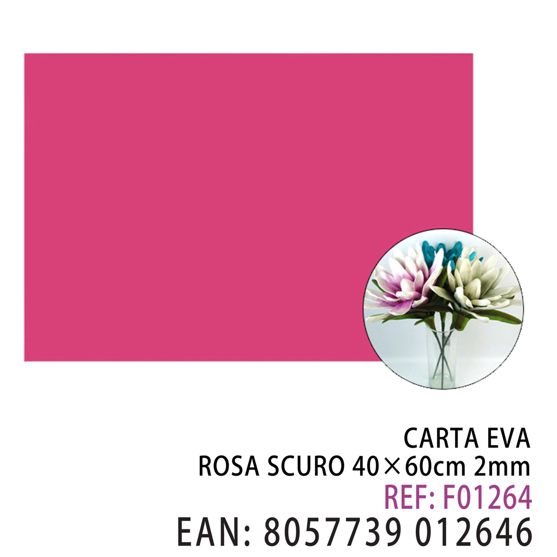 EVA ROSA SCURO 40*60CM*2MMDz