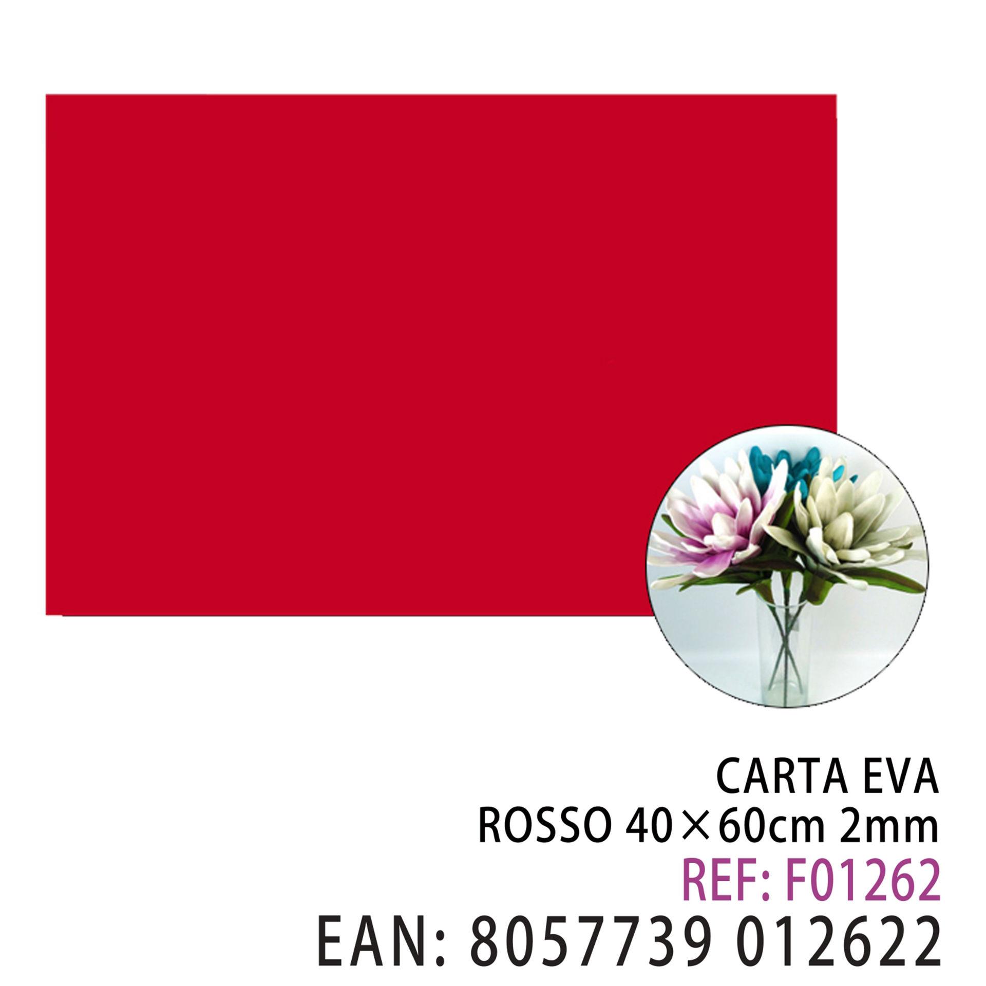 EVA ROSSO 40*60CM*2MMDz