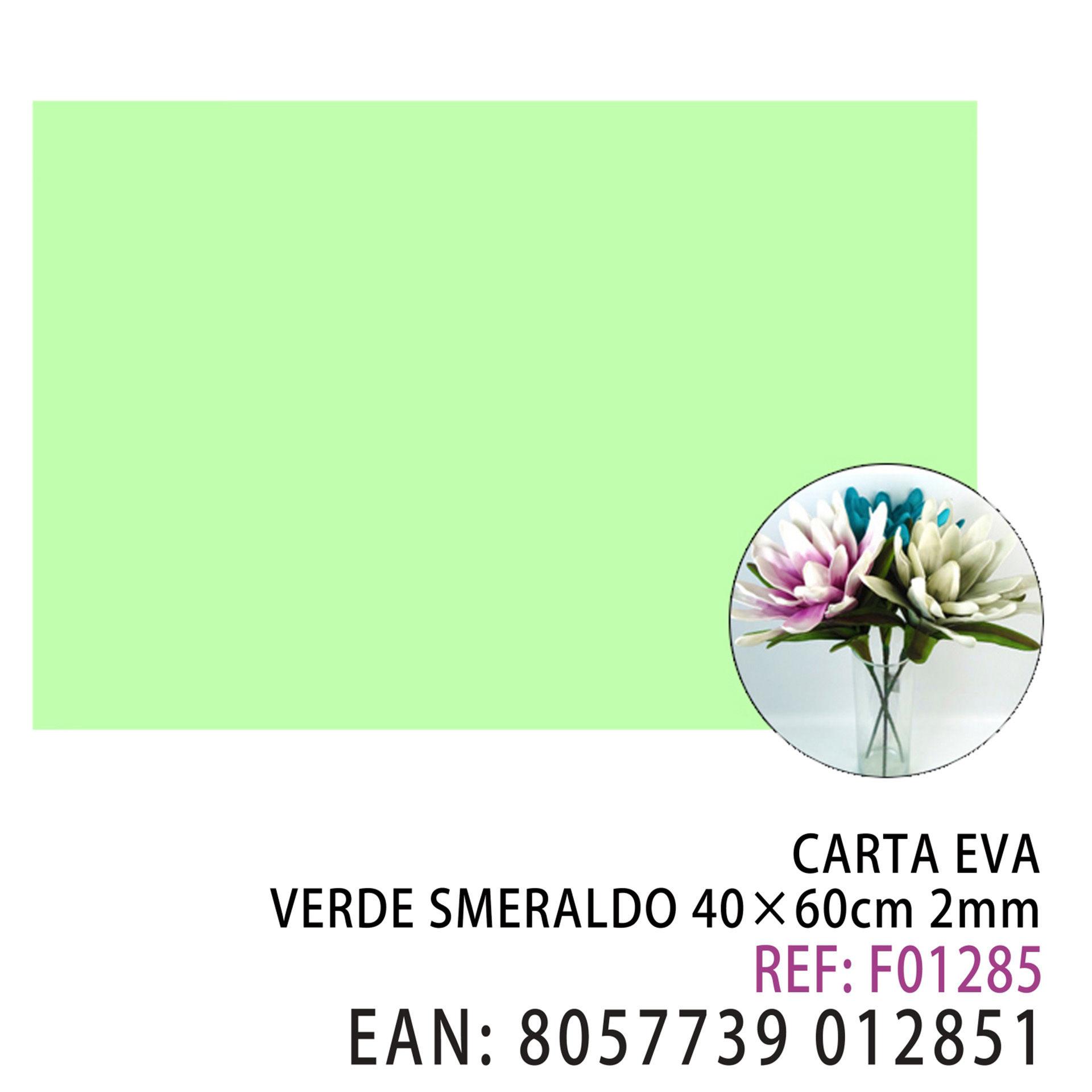 EVA VERDE SMERALDO 40*60CM*2MMDz