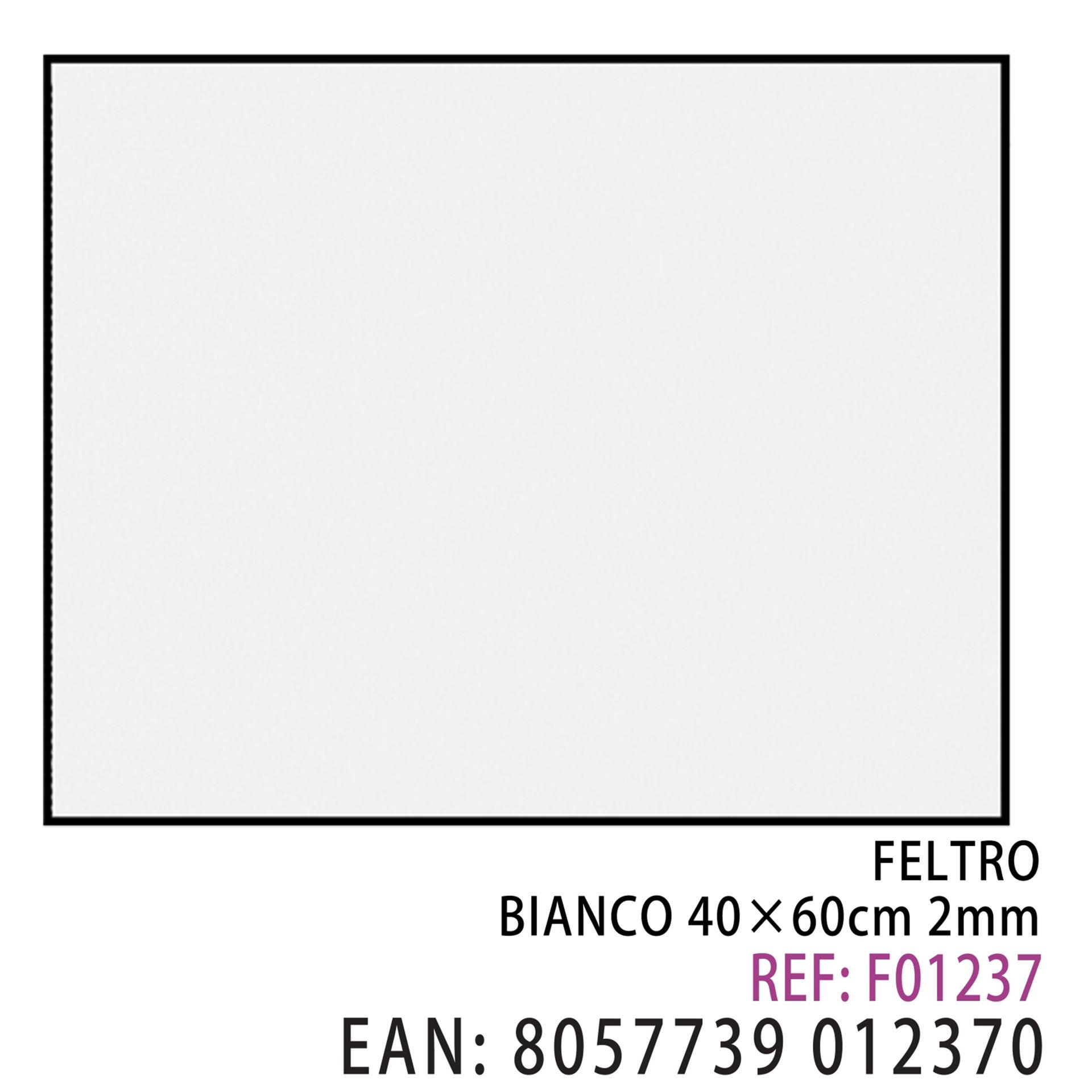FELTRO BIANCO 40*60CM*2MMDz