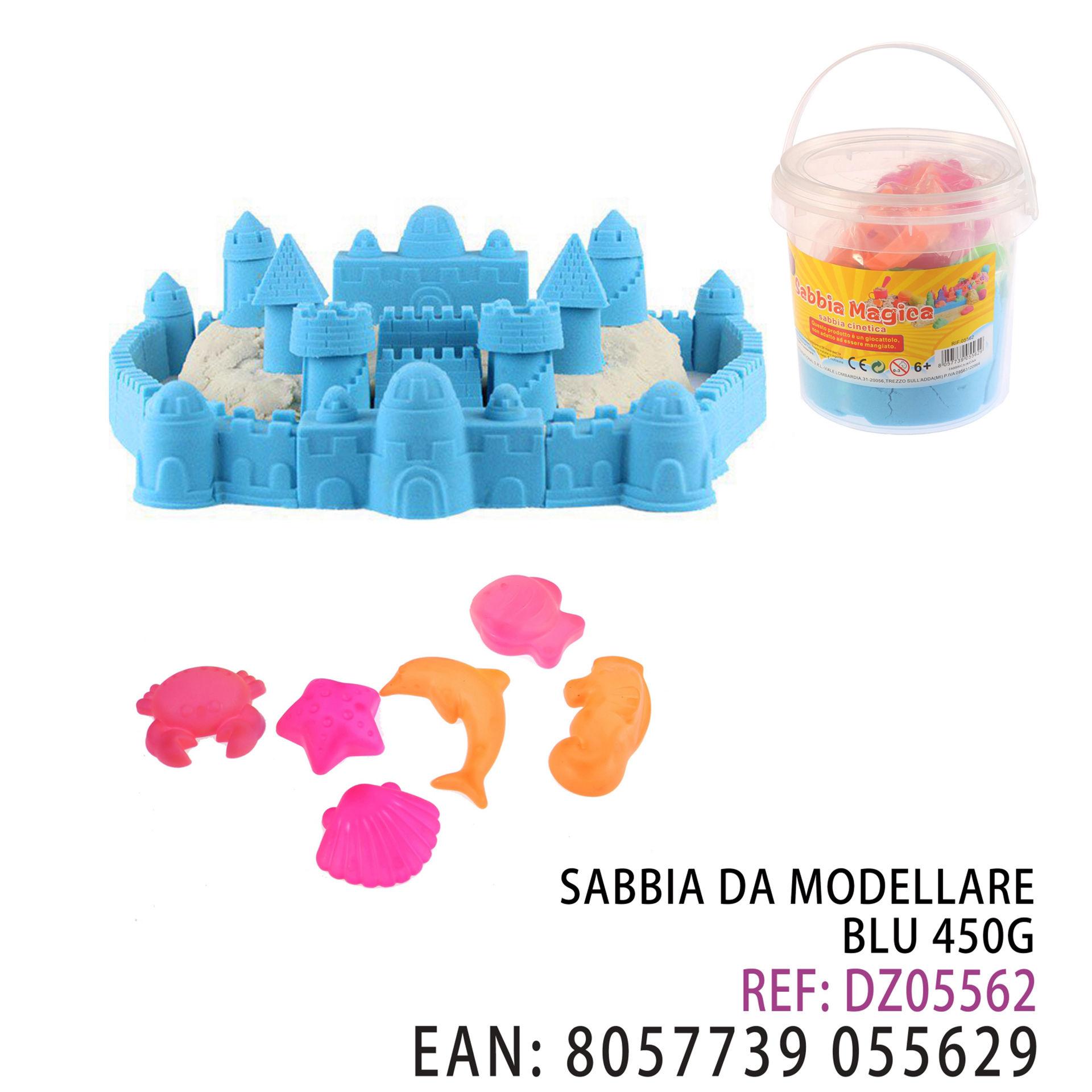 SABBIA DA MODELLARE BLU 450GDz