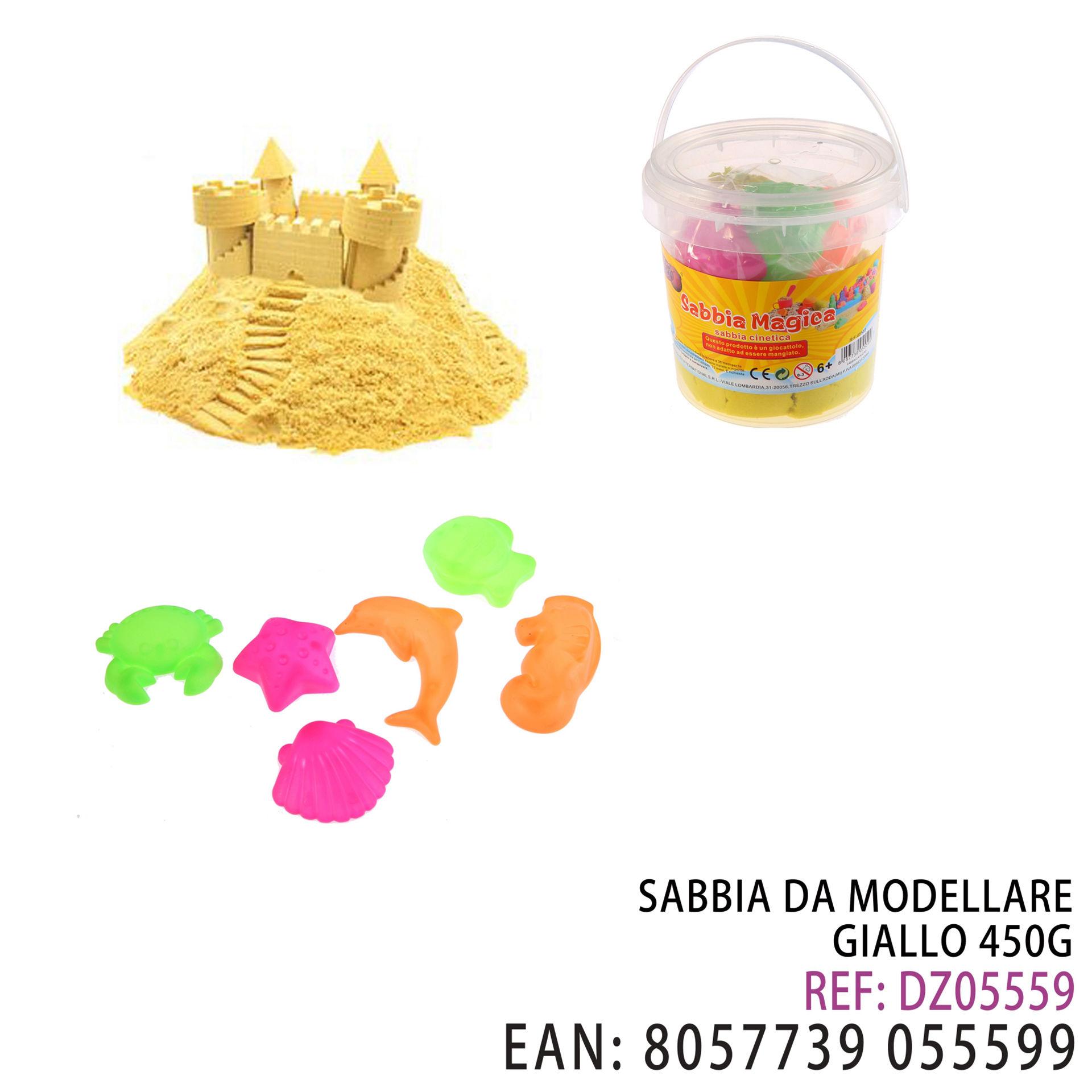 SABBIA DA MODELLARE GIALLO 450GDz