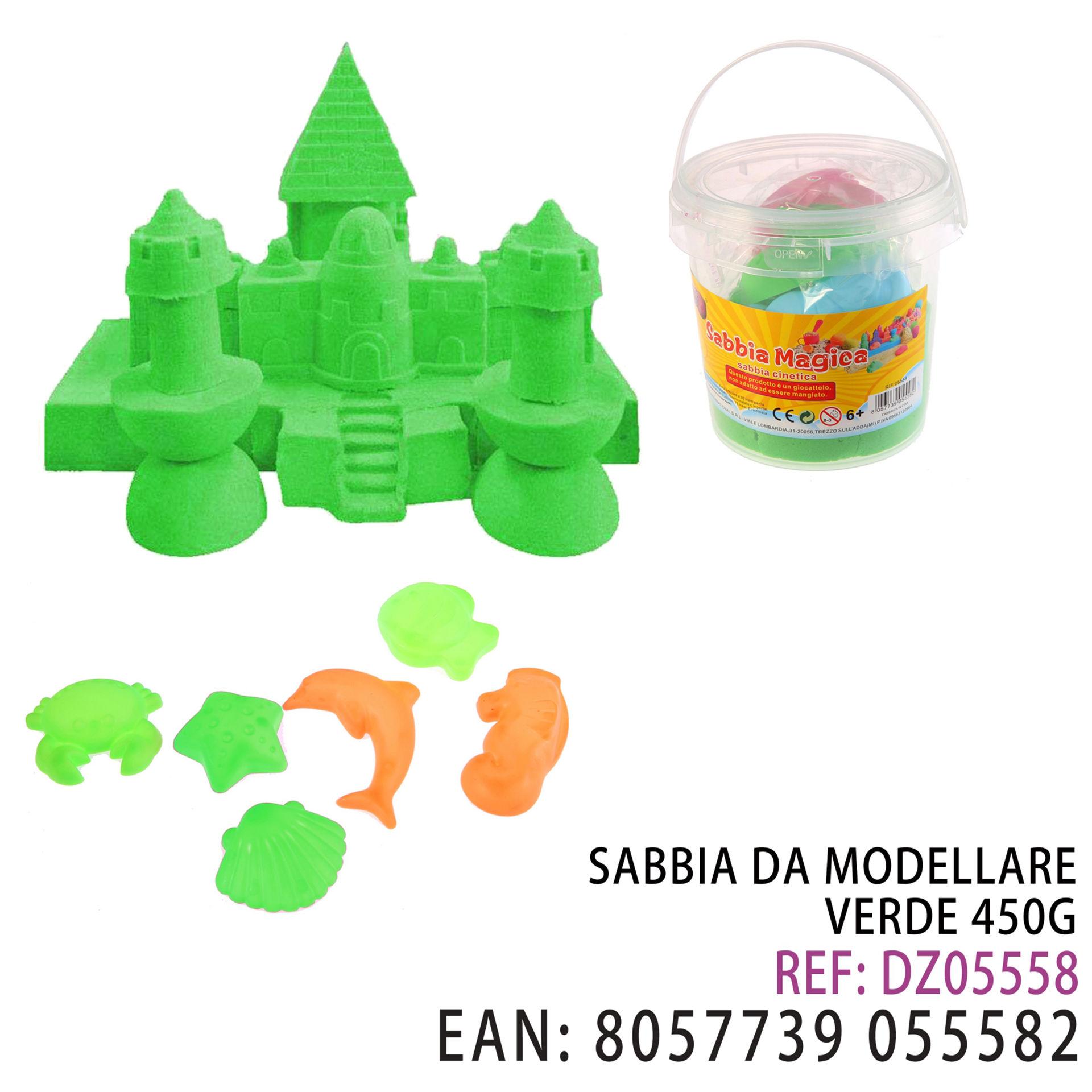 SABBIA DA MODELLARE VERDE 450GDz
