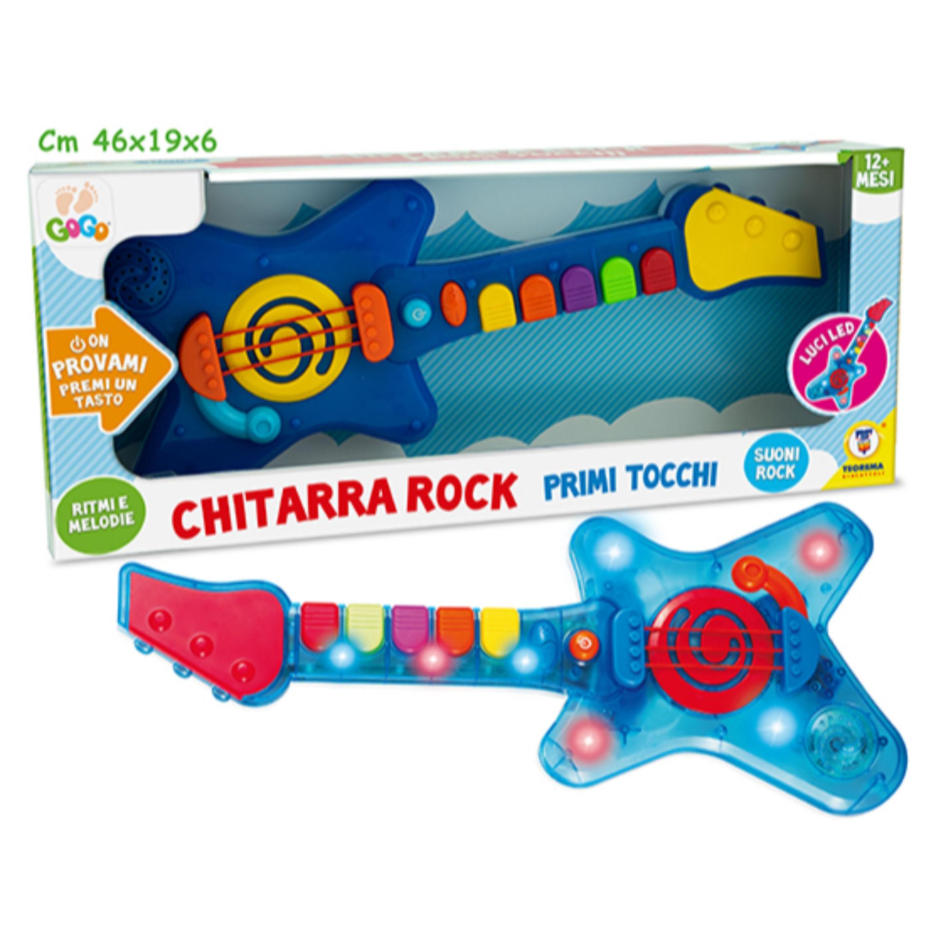 GOGO - CHITARRA ROCK MUSICALE E LUMINOSATeorema