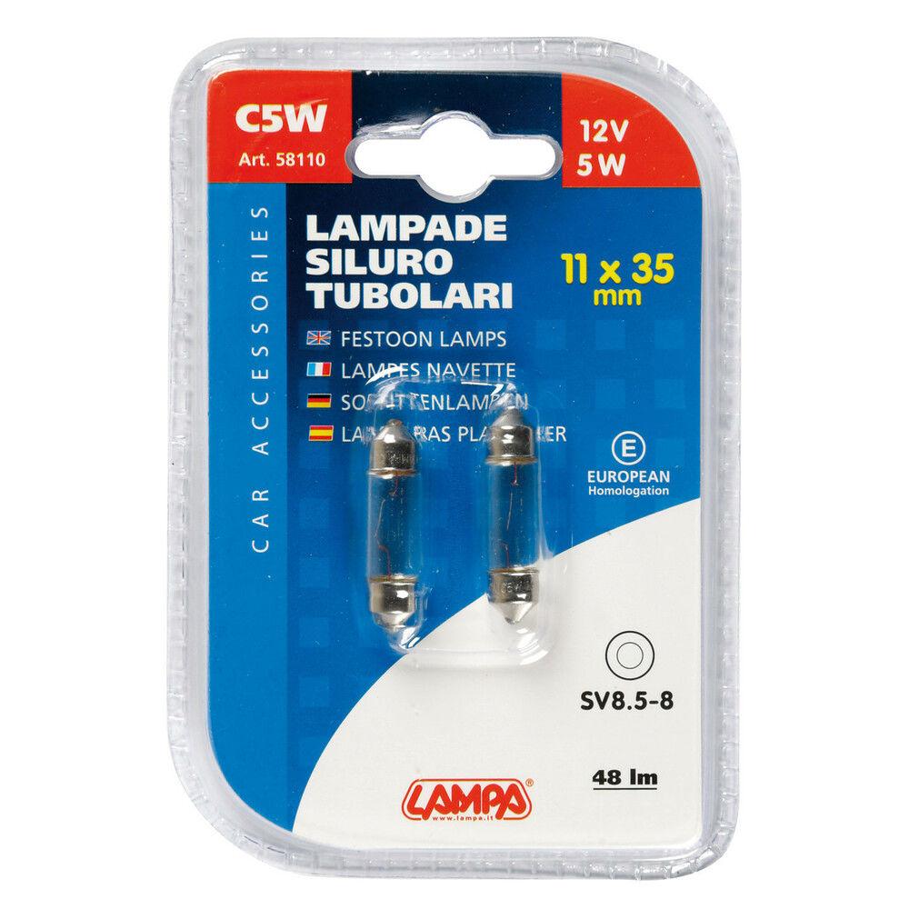 CP.LAMP.TUBOL. C5W  5W SV8,5Lampa