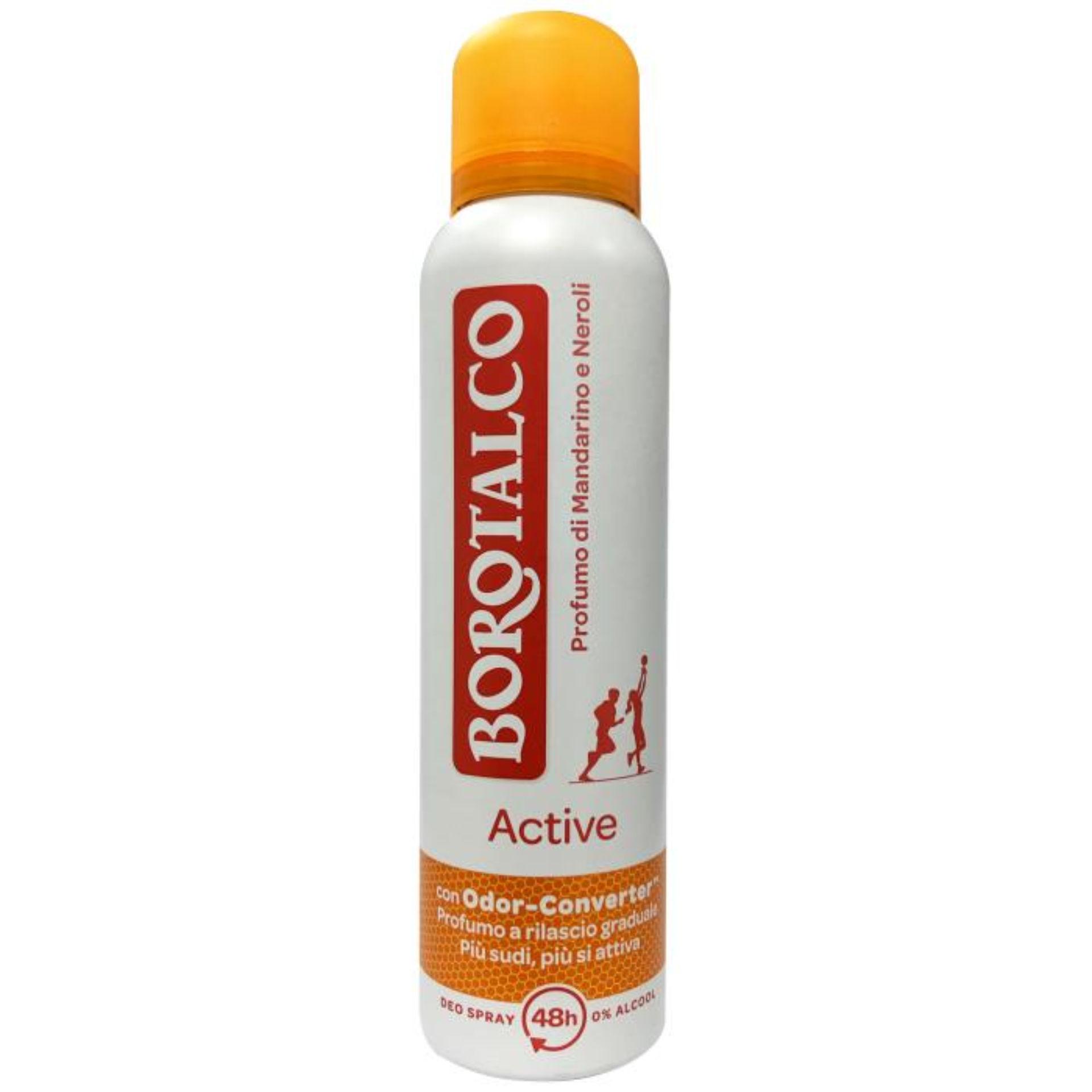 BOROTAL. BODY SP.150ML ACTIVE ARAN.T.36%