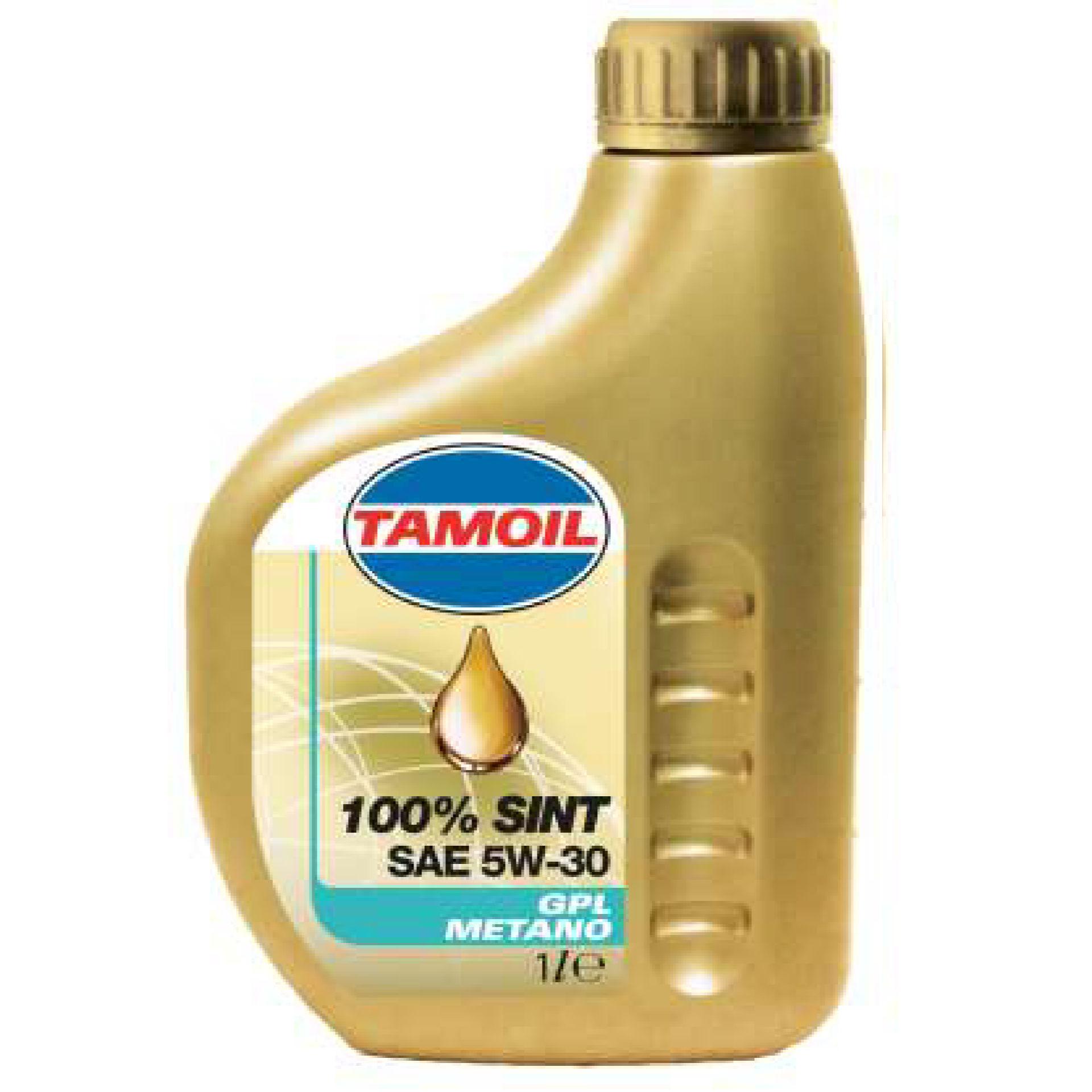 TAMOIL 100% SINTETICO GPL METANO SAE 5W - 30Tamoil
