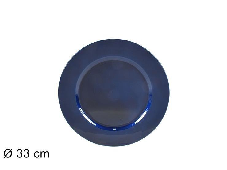 SOTTOPIATTO 33CM BLU 18166B  (FS001-B) (F.0,36)Due Esse