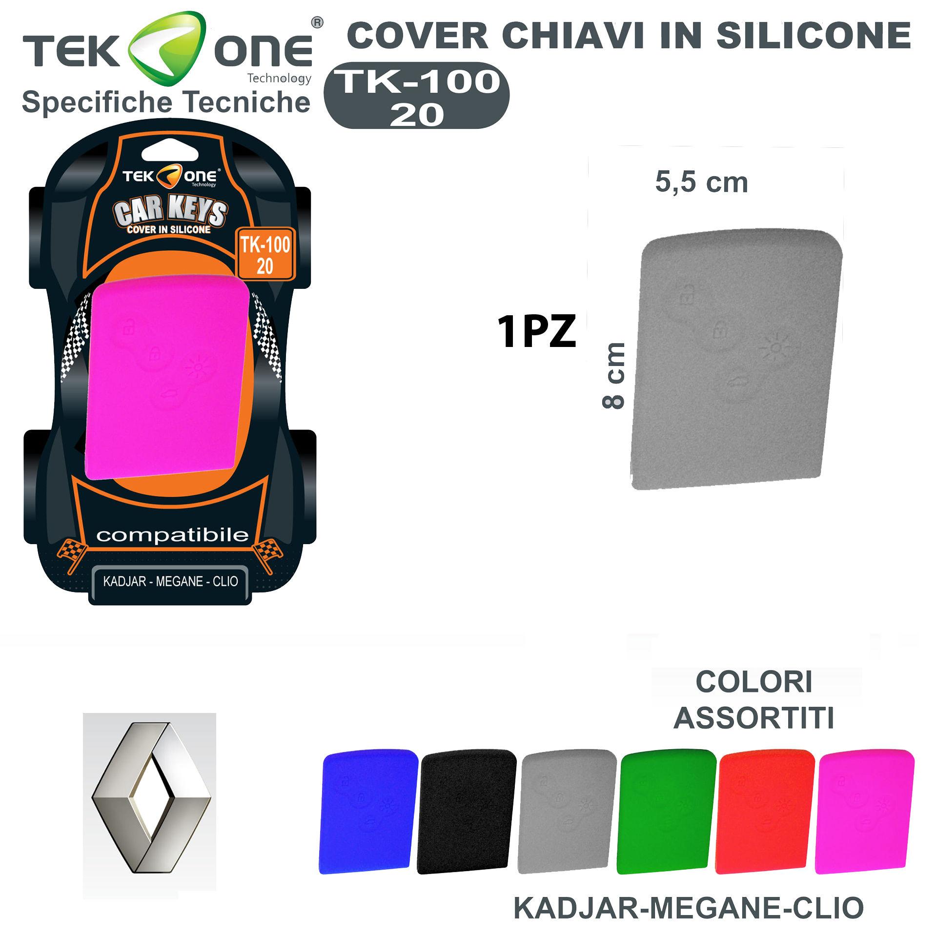 COVER CHIAVI IN SILICONE TK100-20Tekone